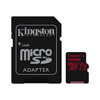 128GB microSDXC Canvas React  100R/80W U