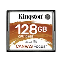 128GB CompactFlash Canvas Focus up to 15