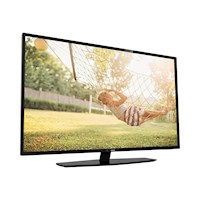 "43"" Professional TV, HEVC, RF, black, LE"
